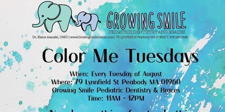Color Me Tuesdays - For Kids! tickets