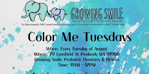 Color Me Tuesdays - For Kids!