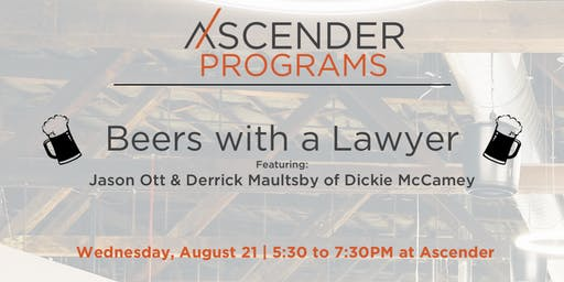 Beers with a Lawyer | Raising Capital