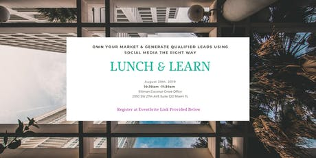 Real Estate Marketing Lunch & Learn tickets