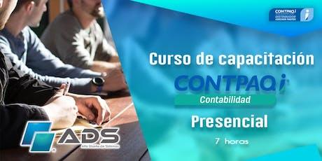 Curso Presencial de CONTPAQ i® Contabilidad  entradas