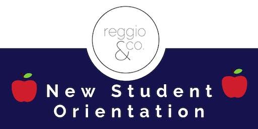 Reggio & Co.'s New Student Orientation