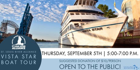 SLRA Annual Vista Star Boat Tour tickets