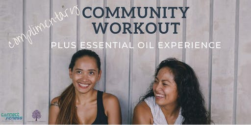 Community Workout & Essential Oil Experience