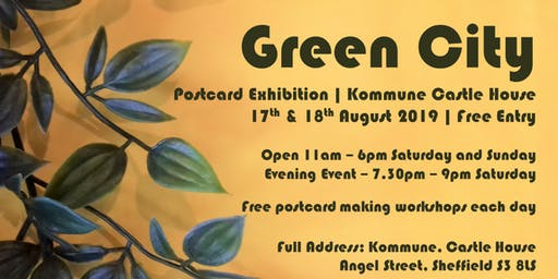 Green City | Pop Up Exhibition | Evening Event