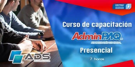Curso Presencial de CONTPAQ i® AdminPAQ entradas