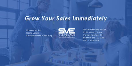 Grow Your Sales Immediately tickets