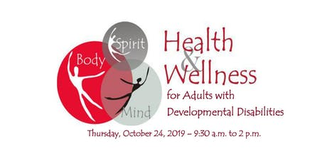 Health & Wellness Event for Adults with Developmental Disabilities tickets