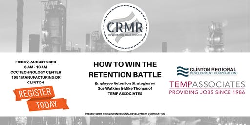 How to Win the Retention Battle: Employee Retention Strategies w/TEMP ASSOC