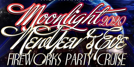 The 7th Annual Moonlight NYE Fireworks Party Cruise on the SF Spirit Yacht tickets