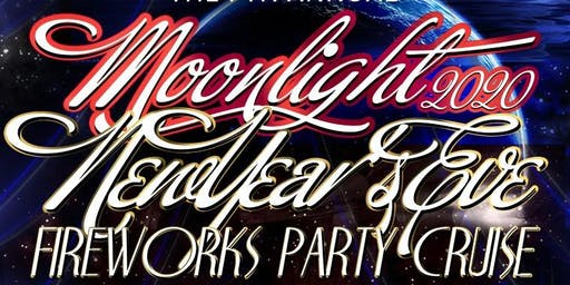 The 7th Annual Moonlight NYE Fireworks Party Cruise on the SF Spirit Yacht
