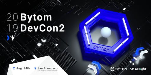 2019 Bytom Global Blockchain Developer Conference