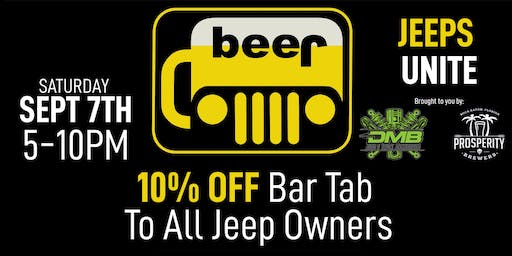 Jeep Night at Prosperity Brewers