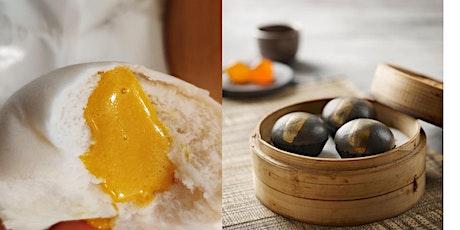 DIM SUM: B&W Sweet Salted Egg Custard Buns! A Dairy-free Cooking Class* tickets