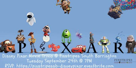 Disney Pixar Trivia at Pinstripes South Barrington tickets