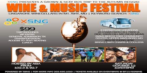 XSNG Presents: Bus Trip to Linganore Autumn Reggae Wine & Music Festival