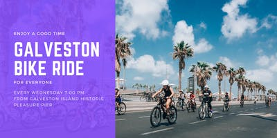 Galveston bike ride