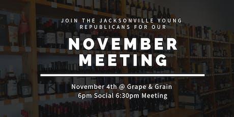 JYR November Meeting: Congressman John Rutherford! tickets