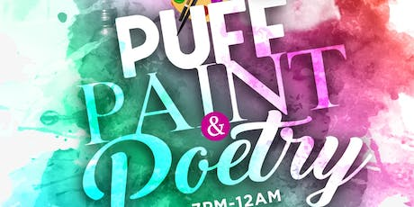 Puff, Paint & Poetry tickets
