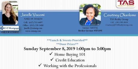 Complimentary Lunch & Learn Homebuyer Session tickets
