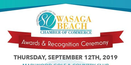 Wasaga Beach Business Awards and Recognition Ceremony tickets