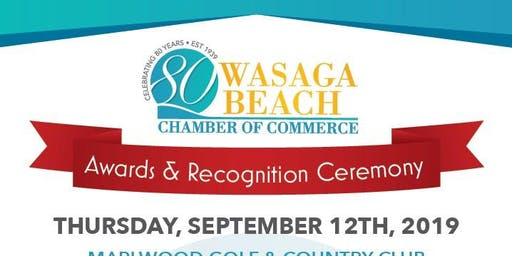 Wasaga Beach Business Awards and Recognition Ceremony