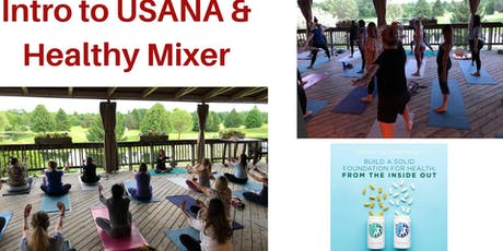 Intro to USANA & Healthy Mixer tickets