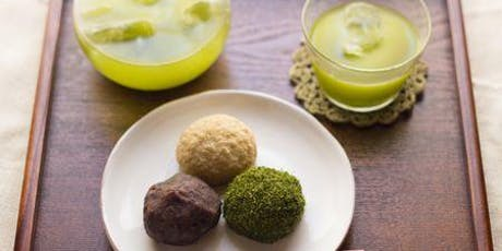 Learn to Make Mochi from Scratch! (Green Tea with Mung bean & Black Sesame with Purple Potatoes) tickets