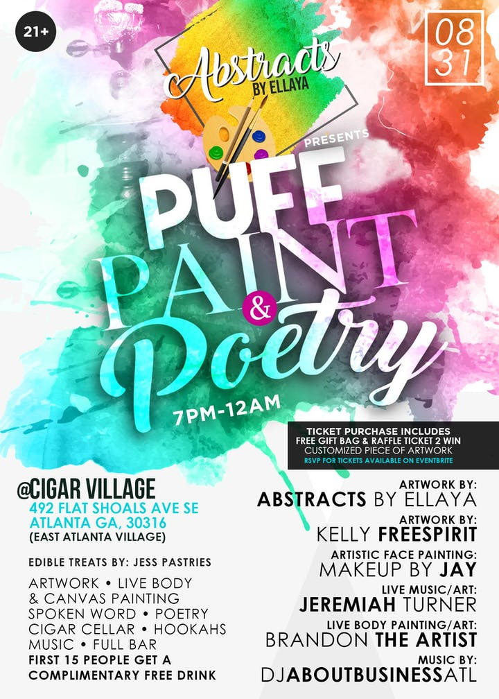 368887c424d3 Puff, Paint & Poetry