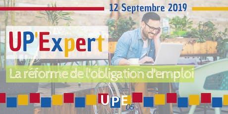 UP'Expert | La réforme de l'obligation d'emploi (handicap) tickets