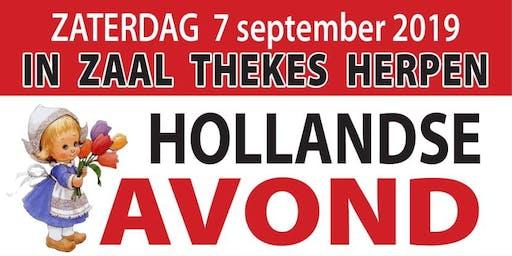 Thekes - Hollandse avond m.m.v. Corry Konings