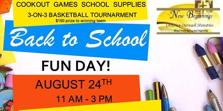 Back To School Fun Day tickets