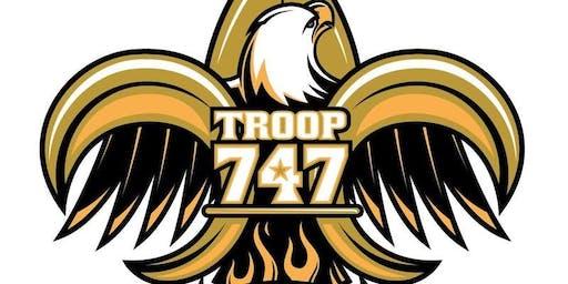 Troop 747 Merit Badge Day October 2019