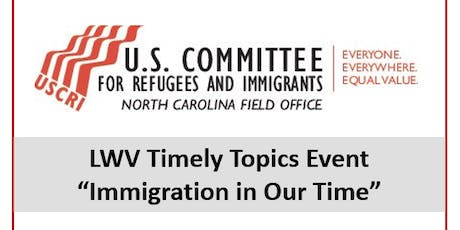Timely Topics - Immigration in Our Time tickets