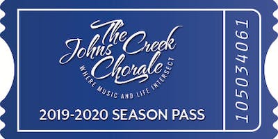 Johns Creek Chorale 2019-20 Season Pass (4 Concert Series)