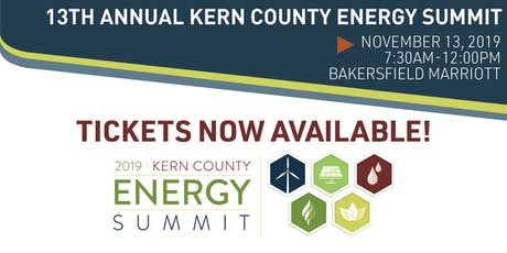 13th Annual Kern County Energy Summit tickets