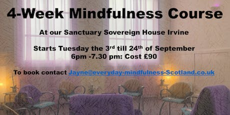 4-week Mindfulness Stress Reduction Course  tickets