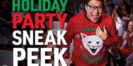 Main Event Entertainment - Holiday Sneak Peek! tickets