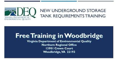 Underground Storage Tank Regulation Training - Woodbridge tickets