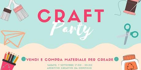 CRAFTparty - vendi e compra materiale per creare biglietti