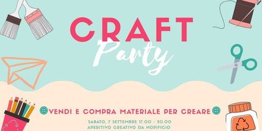 CRAFTparty - vendi e compra materiale per creare