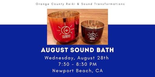 August Sound Bath