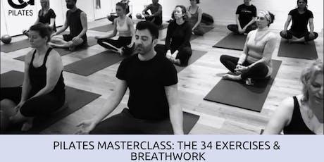 Pilates Masterclass: 34 Classical exercises & Breathwork tickets