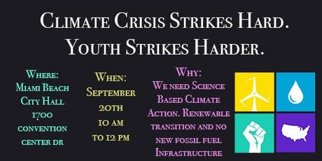 Global Climate Strike- Miami tickets