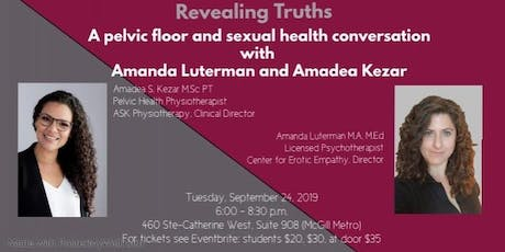 Revealing Truths: A Pelvic Floor and Sexual Health Conversation tickets