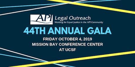 API Legal Outreach - 44th Anniversary Gala tickets
