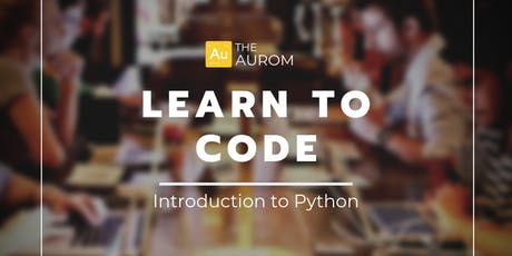 Learn to Code: Introduction to Python tickets