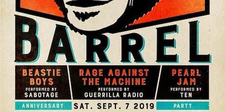 Monkey Barrel 6th Anniversary Featuring Beastie Boys, Rage Against The Machine & Pearl Jam Tribute Bands tickets