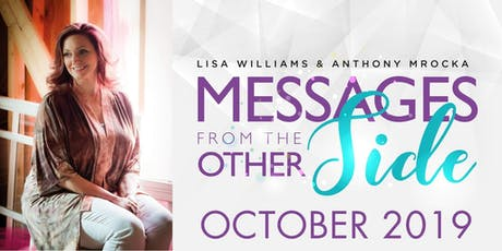 Messages From The Other Side - Lisa Williams & Anthony Mrocka - Pleasantville, NY tickets