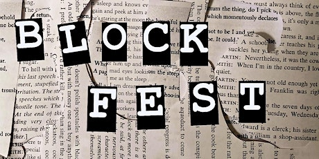 Infinite Poetry at Block Fest tickets